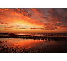 Intense Sunset Photographic Print