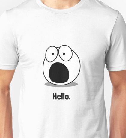 Hello Cartoon Unisex T-Shirt