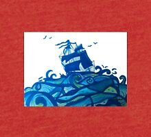 shipping through blue seas Tri-blend T-Shirt