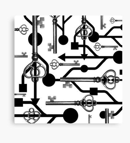 USB Key Canvas Print