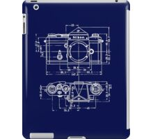 Vintage Photography: Nikon Blueprint iPad Case/Skin