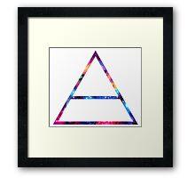 Galaxy Echelon Framed Print