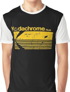 Vintage Photography: Kodak Kodachrome - Yellow Graphic T-Shirt
