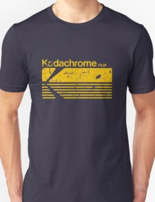 Vintage Photography: Kodak Kodachrome - Yellow T-Shirt