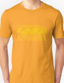 Vintage Photography: Kodak Kodachrome - Yellow Unisex T-Shirt