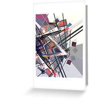 Abstract composition 172 Greeting Card