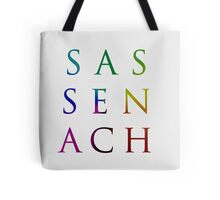 Colorful Sassenach Tote Bag