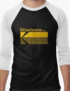 Vintage Photography: Kodak Ektachrome - Yellow Men's Baseball ¾ T-Shirt