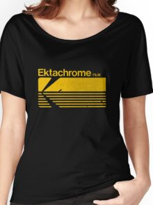 Vintage Photography: Kodak Ektachrome - Yellow Women's Relaxed Fit T-Shirt