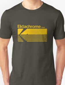Vintage Photography: Kodak Ektachrome - Yellow Unisex T-Shirt