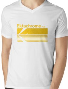 Vintage Photography: Kodak Ektachrome - Yellow Mens V-Neck T-Shirt