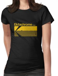 Vintage Photography: Kodak Ektachrome - Yellow Womens Fitted T-Shirt