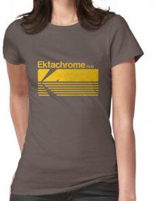 Vintage Photography: Kodak Ektachrome - Yellow Womens Fitted T-Shirt