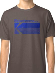 Vintage Photography: Kodak Ektachrome - Blue Classic T-Shirt
