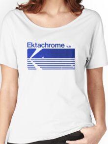 Vintage Photography: Kodak Ektachrome - Blue Women's Relaxed Fit T-Shirt