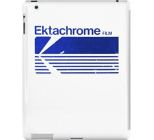 Vintage Photography: Kodak Ektachrome - Blue iPad Case/Skin