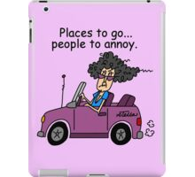 Funny Sarcasm Old People Annoying iPad Case/Skin