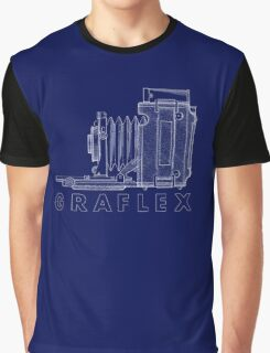 Vintage Photography - Graflex Blueprint (Version 2) Graphic T-Shirt