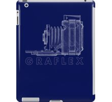 Vintage Photography - Graflex Blueprint (Version 2) iPad Case/Skin