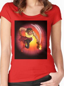 Nina Nitro - Action Figures Women's Fitted Scoop T-Shirt