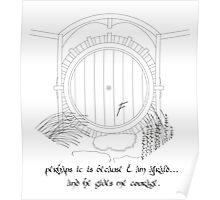 Hobbit Hole Poster