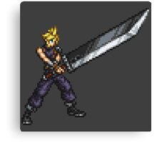 FFRK Boss Sprite - Cloud Strife (FF7) Canvas Print