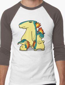 Number 155, 156 and 157 Men's Baseball ¾ T-Shirt