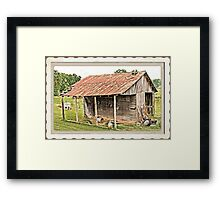 """Junior's Clubhouse ""... prints and products Framed Print"