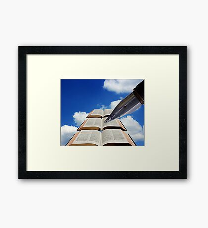 The next chapter Framed Print