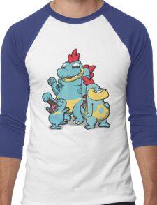 Number 158, 159 and 160 Men's Baseball ¾ T-Shirt