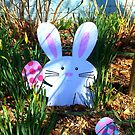 The Easter Bunny Is In Town by pmarella