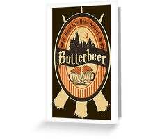 Harry Potter - Butterbeer Greeting Card