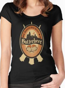 Harry Potter - Butterbeer Women's Fitted Scoop T-Shirt