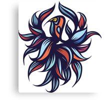 Exotic bird. Canvas Print
