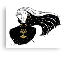 Space Elf Canvas Print