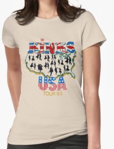 KINKS 3 Womens Fitted T-Shirt