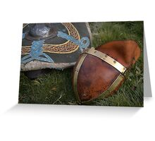 Saxon armour Greeting Card