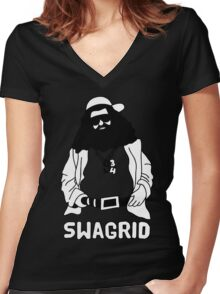 Harry Potter - Swagrid  Women's Fitted V-Neck T-Shirt