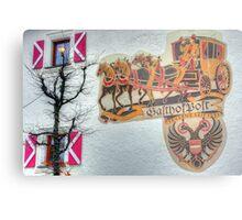Saalbach, Austria Metal Print