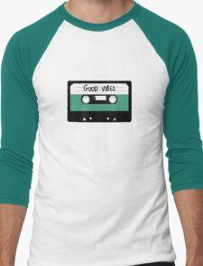 HIPSTER :: GOOD VIBES MUSIC Men's Baseball ¾ T-Shirt