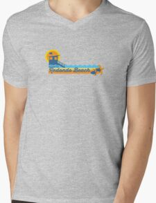 Redondo Beach - California. Mens V-Neck T-Shirt