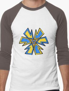 Abstract flower Men's Baseball ¾ T-Shirt