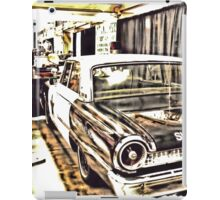 """An Extremely Popular Squad Car""... prints and products iPad Case/Skin"