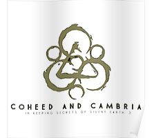 coheed and cambria Devil in Jersey City Poster