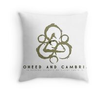coheed and cambria Devil in Jersey City Throw Pillow