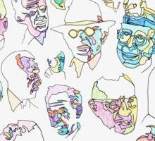 Old Men  Sticker