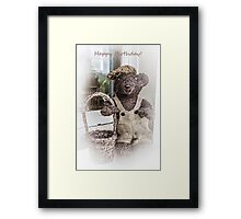 Teddy Bear Picnic Framed Print