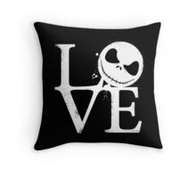 Nightmare Love Throw Pillow