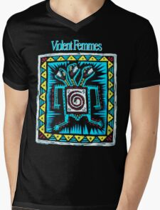 V FEMMES Mens V-Neck T-Shirt