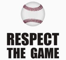 Respect Baseball Kids Tee